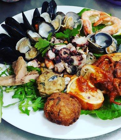 Ristorante Pizzeria A'MARE: Antipasto di mare 🍽