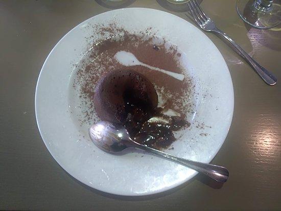 Moelleux au chocolat chaud