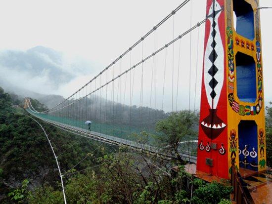 Maolin, Kaohsiung: Duonagao suspension bridge, Kaohsiung city