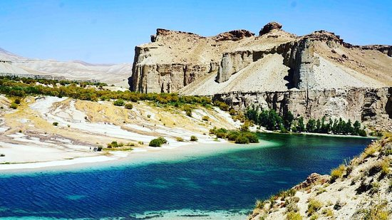Bamyan Province, Afganistan: beautiful scene of Band-e-Amir