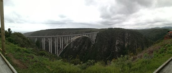 Tsitsikamma National Park, Južna Afrika: Bridge