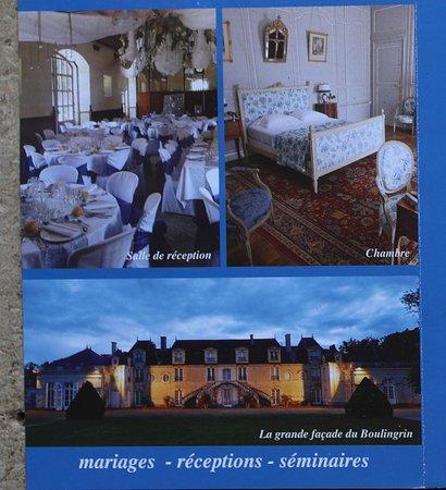 La Chapelle-sur-Oudon, צרפת: Le flyer du château de la Lorie