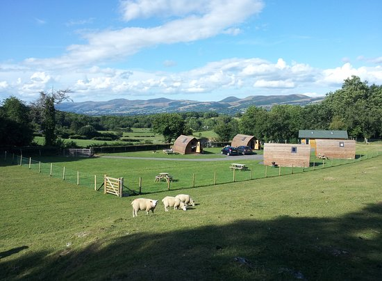 Landscape - Picture of Clwydian Holidays - Glamping Pods and Campsite, Ruthin - Tripadvisor