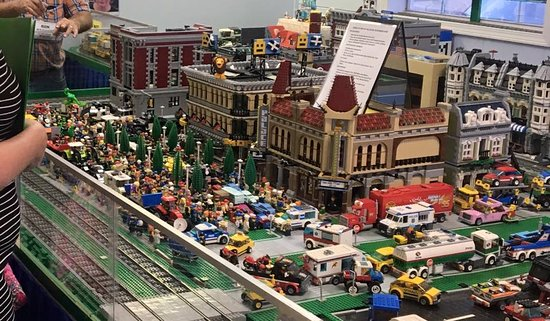 Mississippi Coast Model Railroad Museum: Just part of our 2 million pieces of LEGOs.