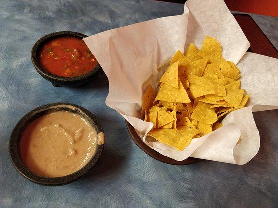 Blackfoot, ไอดาโฮ: Chips, Salsa, & beans