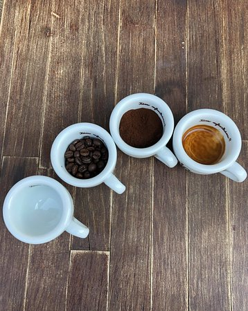 Cesta našej kávy.