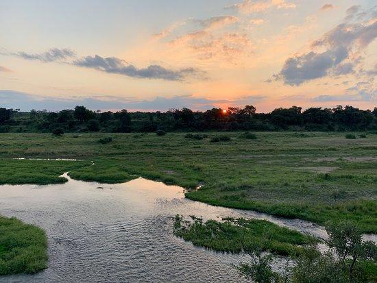 Amazing Kruger View Restaurant: Van op het terras heb je een prachtig uitzicht over Kruger. Met een verrekijker kan je zeker ook dieren spotten.