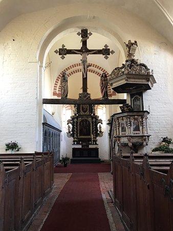schöne alte Dorfkirche