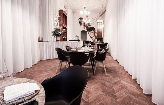 Our very special interior art-masterpiece   copyright: White Kitchen