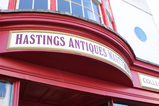 ‪Hastings Antique Warehouse & Metal Detector Hire‬