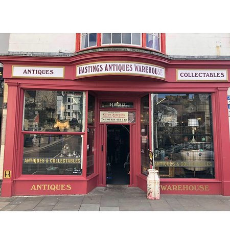 Hastings Antique Warehouse & Metal Detector Hire