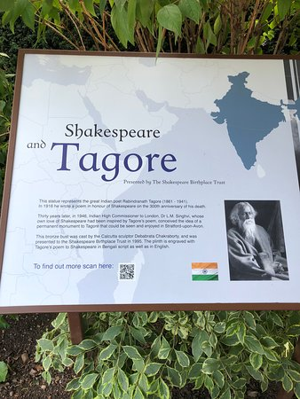Stratford-upon-Avon, UK: Tagore & Shakespeare