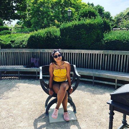 Stratford-upon-Avon, UK: Shakespeare's chair