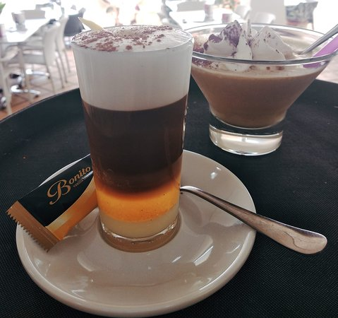 Tasty Barraquito - very typical to Tenerife