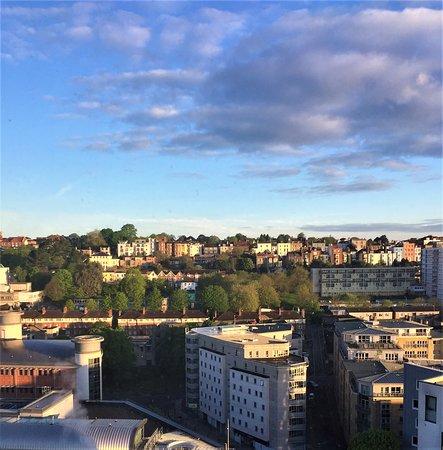 6.  Premier Inn (Haymarket), Bristol; view from bedroom