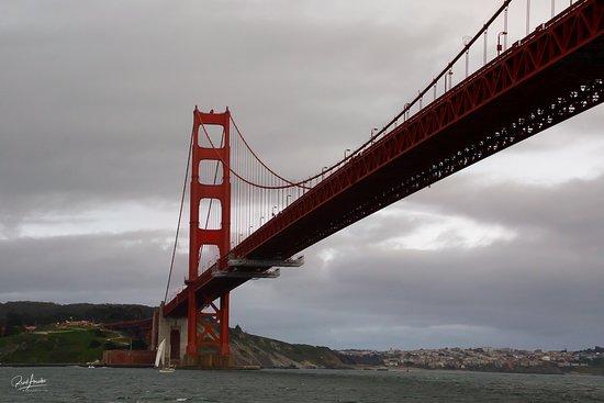 San Francisco Bay Sunset Catamaran Cruise: Another view of the Golden Gate Bridge