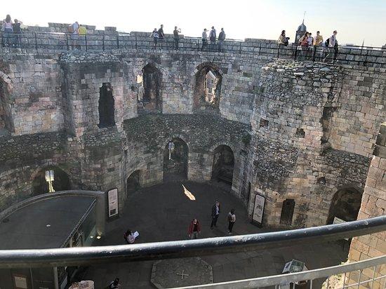 York, UK: Inside Clifford's Tower