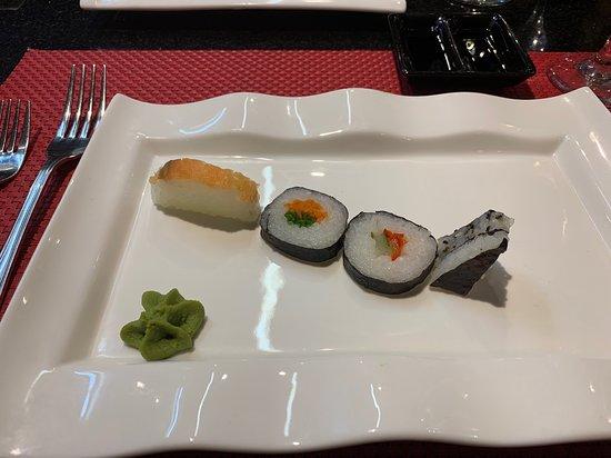 Iberostar Selection Playa Pilar: Appetizer at the Japanese al a carte