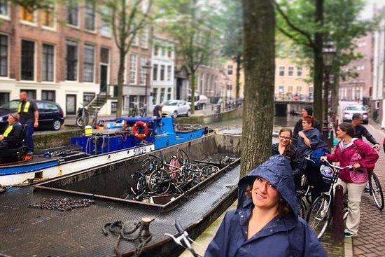 Fietstocht door Amsterdam: buiten de ...