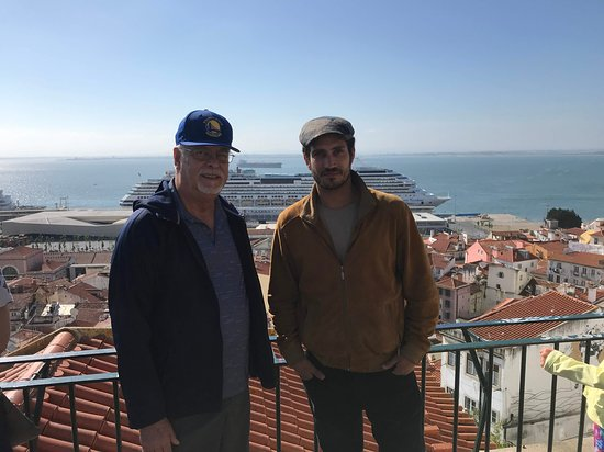 Private Jeep Tour From Lisbon to Belem with a Local: Marco on the right