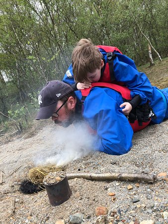 Bank holiday outdoorsy family fun, paintball, gorge walking, guided hill walking and open canoeing. Adventure 21 can advise on the best accommodation to suit your family group for a great vacation.