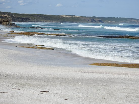 Cape Bridgewater, Австралия: Shelly Beach....