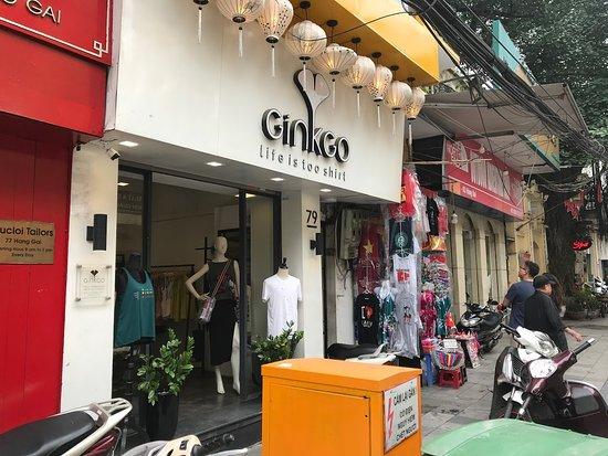 Ginkgo T-Shirts Store Hang Gai