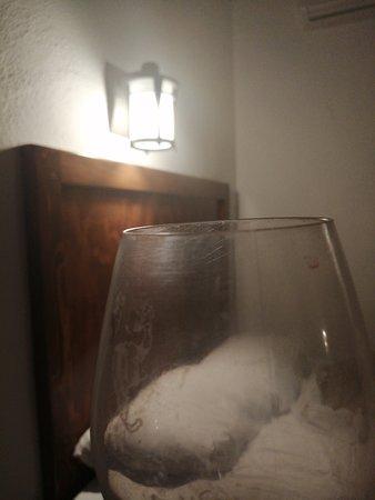 Las copas que te dan para vino