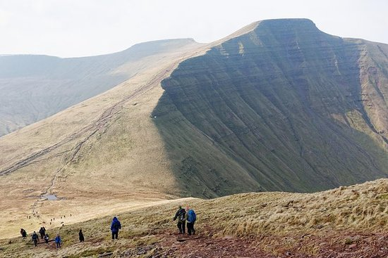 Hike up the Brecon Beacons highest...