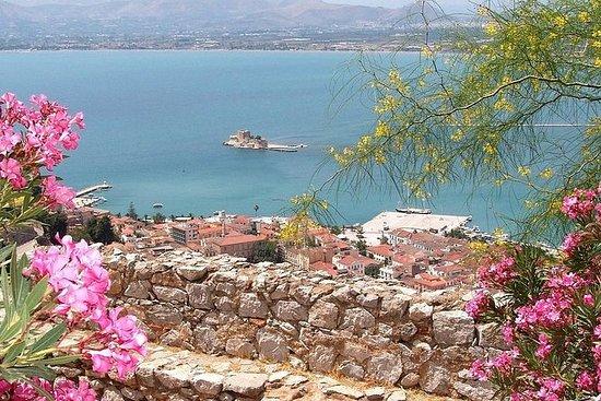 从雅典到伯罗奔尼撒和纳夫普利翁的私人一日游