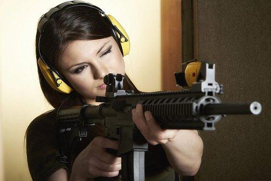 Kalashnikov Gun Shooting with Hotel...