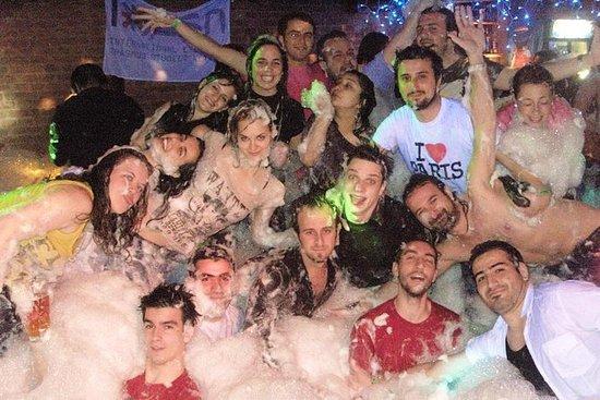 PUB和CLUB Crawl在捷克共和国:Pilsen