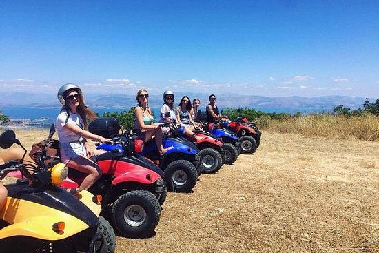 Corfu Quad Safari at The Pink Palace