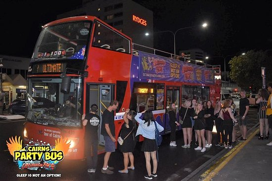 Cairns Ultimate Party Bus. Il modo