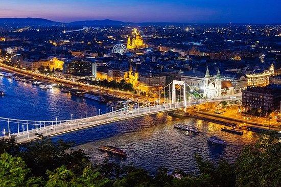 Budapest: crucero nocturno con vista...