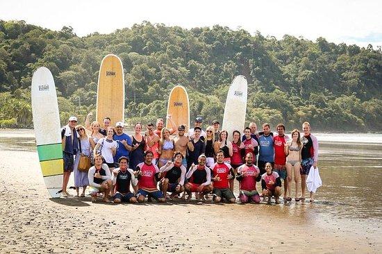 Surf leksjon med Pro Team