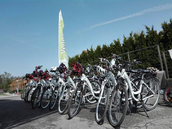 Dobbiaco, Italië: Our Trekking/City bikes