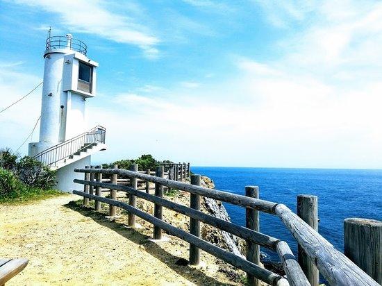 灯台の階段まで上れます