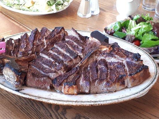 Mega Steak Picture Of Peter Luger Steak House Brooklyn