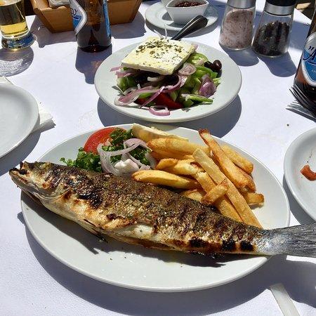 Vitamins Taverna: Best Seabass ever👍