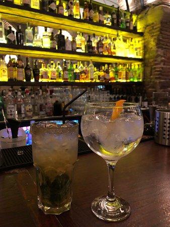 An der Bar im La Luna