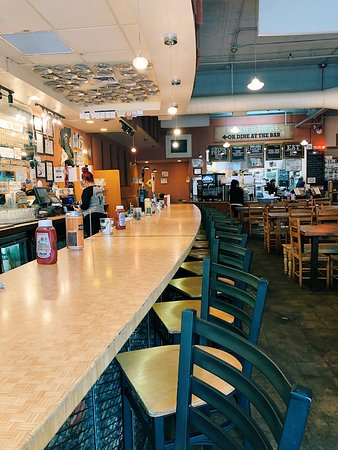 Bull City Burger and Brewery: Inside BCBB