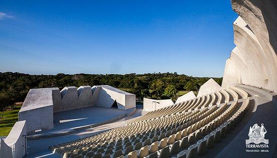 O palco aberto do Teatro L'Occitane