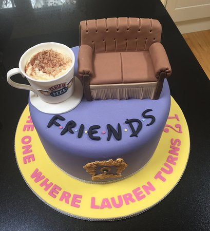 Incredible Fabulous Friends 21St Birthday Cake Picture Of Sweet Passion Funny Birthday Cards Online Alyptdamsfinfo