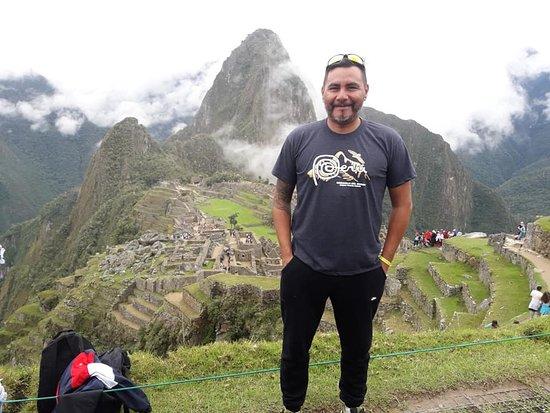 Andean Spirit Adventure: Passenger Claudio from Argentina in MACHUPICCHU - PERU