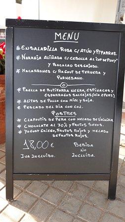 Autre Menu Du Jour Picture Of Restaurant Villa Mas Sant Feliu De Guixols Tripadvisor