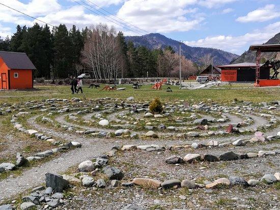Elekmonar, Russia: Каменный лабиринт