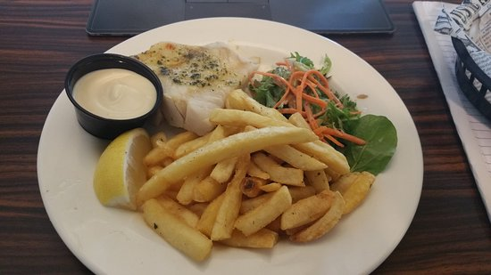 Sizzler: Lunch fish and chips