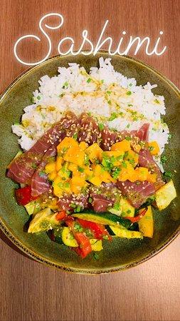 Met Café: sashimi