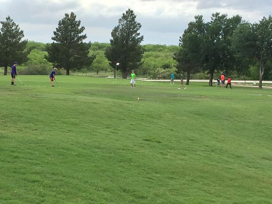 Seymour, TX: Jr. Golf Practice